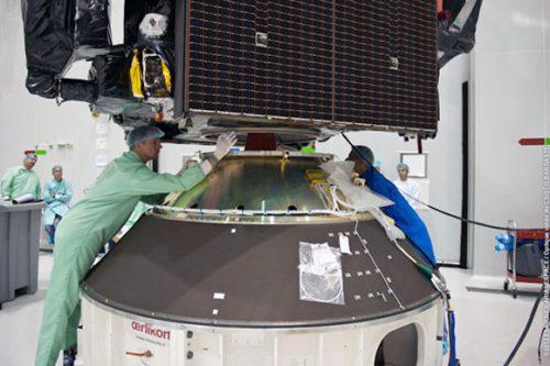 SatOne C3 satellite under construction