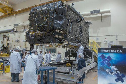 SatOne C4 satellite under construction2
