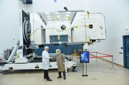 SatOne D1 satellite under construction