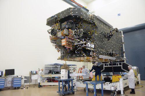 SatOne D1 satellite under construction2