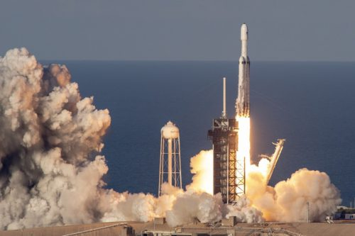 SpaceX launching Arabsat-6A