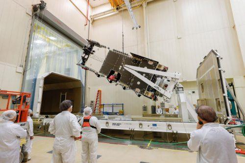 SpaceX readies Arabsat-6A