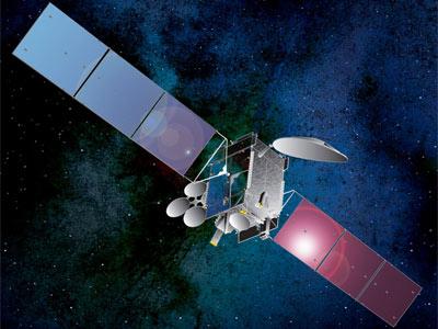 THOR 7 satellite in orbit