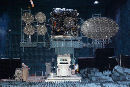 THOR 7 satellite testing
