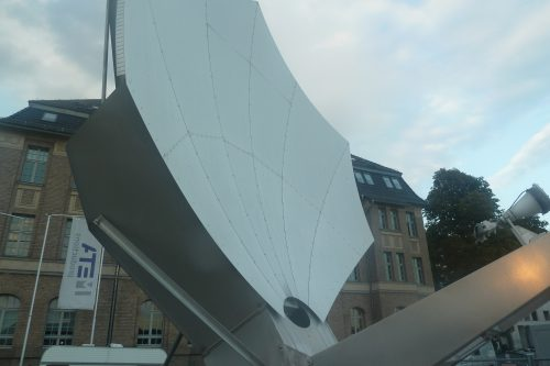 Vertex Antenna 3.8m Ku-band front view1