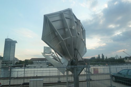 Vertex Antenna 3.8m Ku-band rear view2