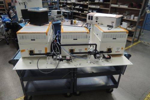 New CEFD Xicom HPA's under test