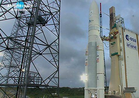 YahSat Al Jah 3 satellite on Ariane V rocket