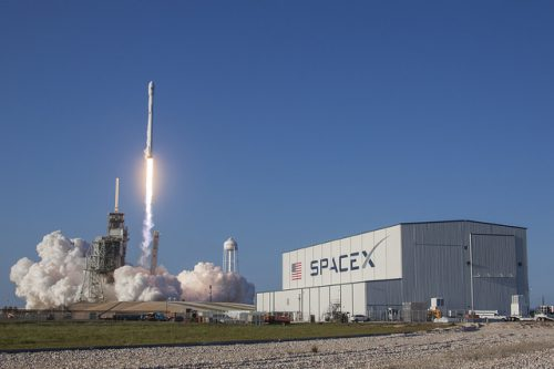 SpaceX Falcon 9 launching Türksat 5A