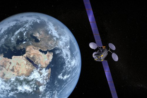 ABS-2 satellite in orbit