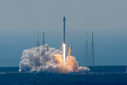 ABS-3A launched by SpaceX