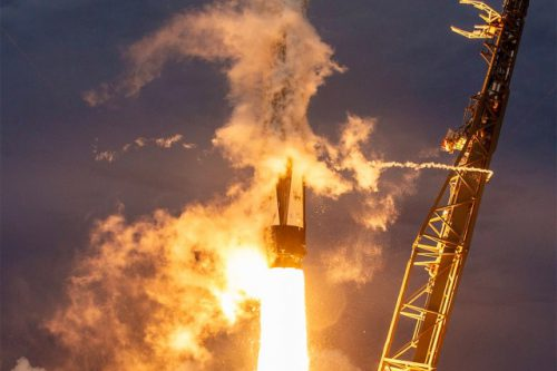 AMOS-17 launched