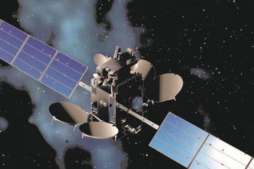 AMOS 2 satellite in orbit