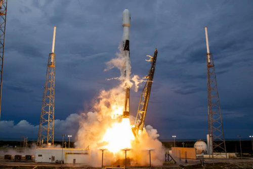 AMOS-3 satellite launched