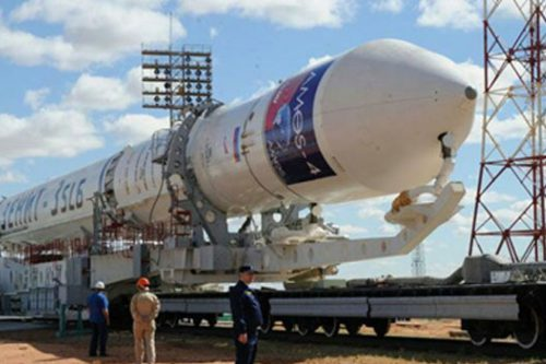 AMOS-4 on Zenit 3SLB rocket