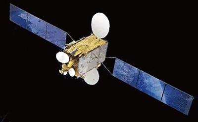 APSTAR-6C satellite in orbit