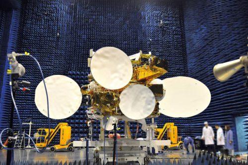 APSTAR satellite under construction