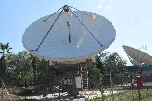 ASC Signal 9.4m Ka-band antenna (front)