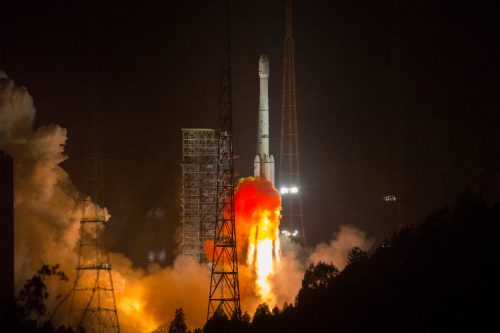 AlcomSat-1 launched by CGWIC Long March CZ-3B:E