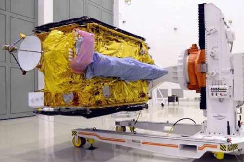 AlcomSat-1 satellite constructed by CAST