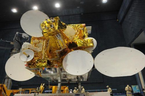 AlcomSat-1 satellite construction