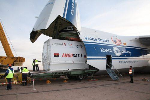 Angosat-1 transport