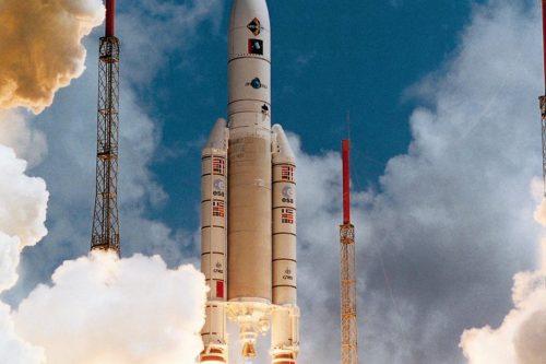 Ariane 5 rocket launched N-Star-c satellite