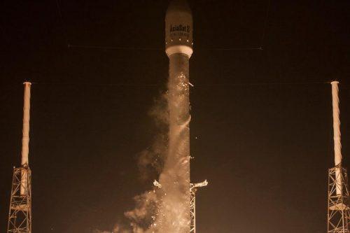 AsiaSat-8 on Falcon 9 rocket launch
