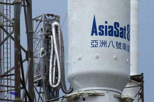 AsiaSat-8 on Falcon 9 rocket