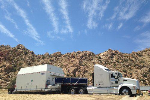 SSL Trucking AsiaSat 8 to launch base