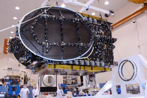 AsiaSat-8 under construction