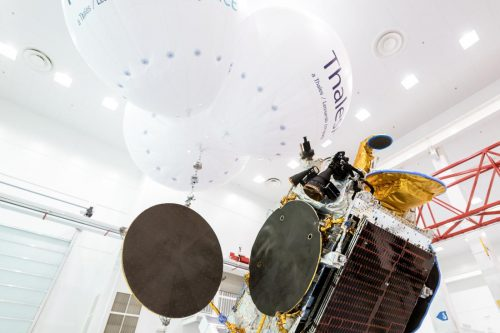 Bangabandhu-1 satellite reflectorsdeployment at Thales