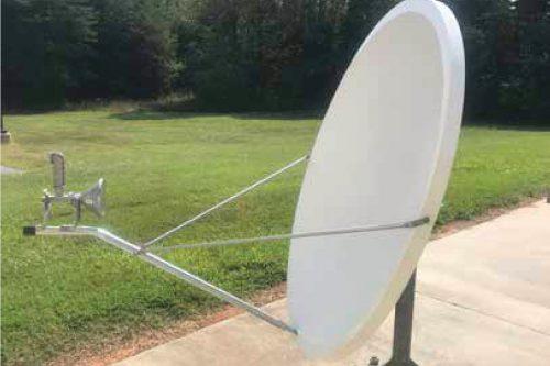 CPI 1.2m Ku-band VSAT RxTx 1132-series
