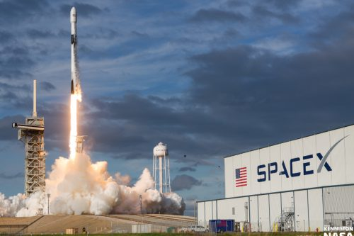 Es'hail-2 launched by SpaceX