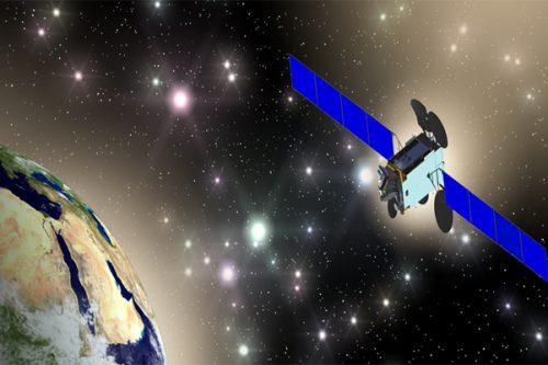 Es'hail-2 satellite in orbit