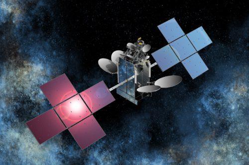 Es'hailsat-1 in orbit