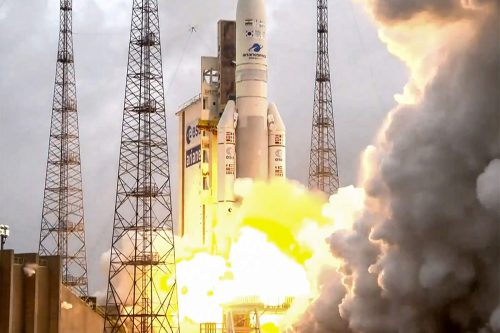 GSAT-11 launched by Arianespace