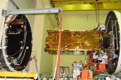 GSAT-11 under test