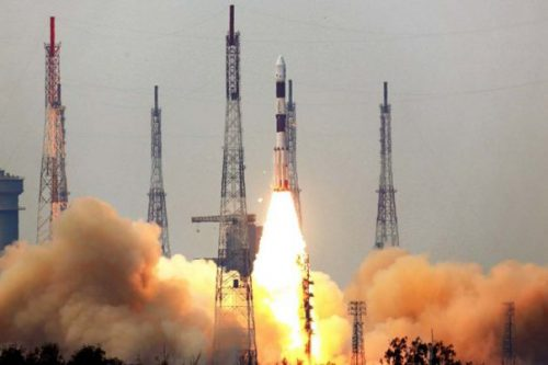 GSAT-18 launched