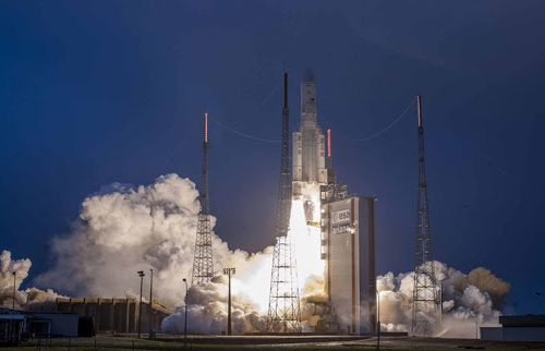 GSAT-31 launched by Arianespace