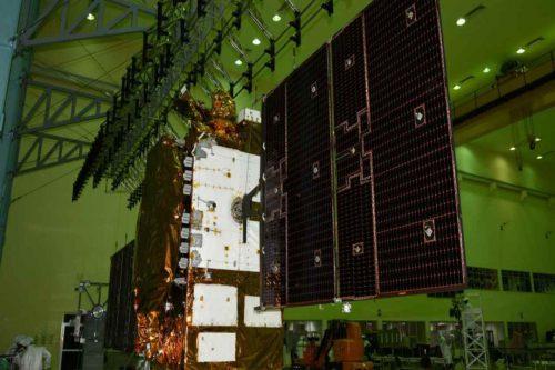 GSAT-7A under test