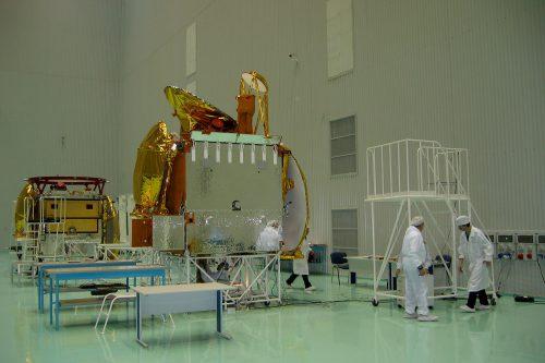 Gazprom Yamal 202 satellite testing