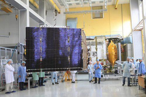 Gazprom Yamal 300K satellite testing
