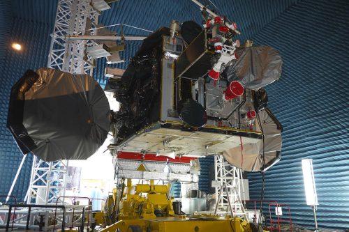 Gazprom Yamal 300K satellite testing2