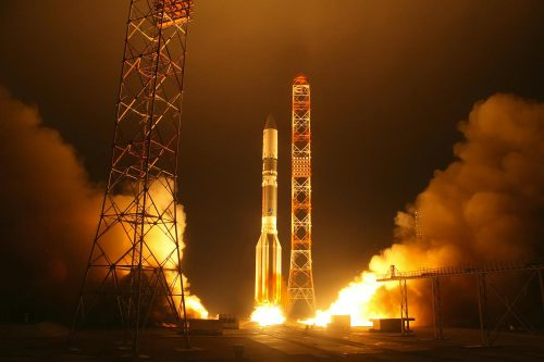 Gazprom Yamal 402 launch