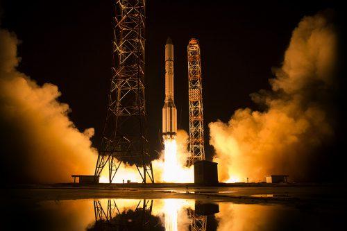 Gazprom Yamal 601 on Proton launched pad