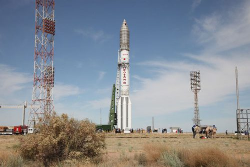 Gazprom Yamal 601 on Proton rocket2