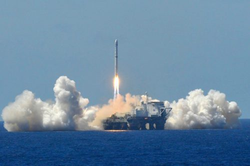 Horizons-1 satellite launched by Sea Launch