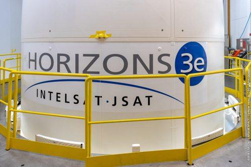 Horizons-3e satellite on Ariane 5 rocket