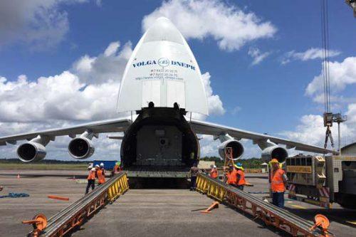Horizons-3e satellite transport